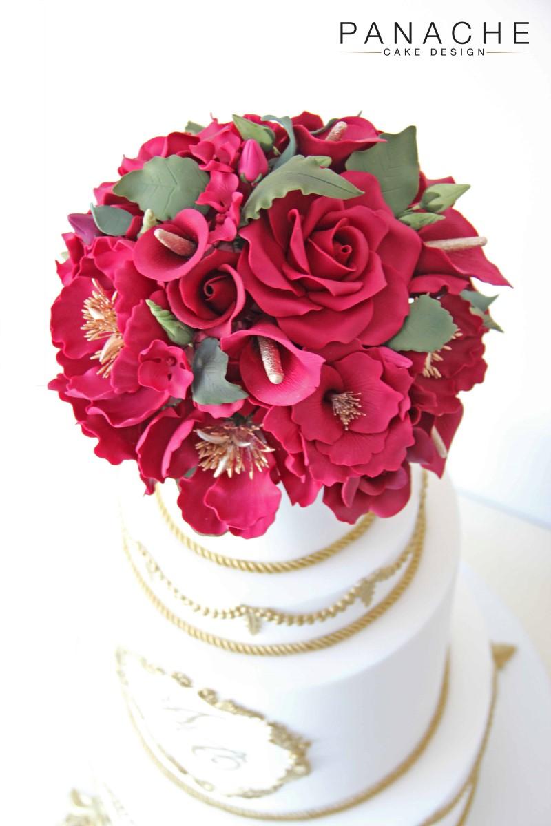 Regal Red Flowers 4